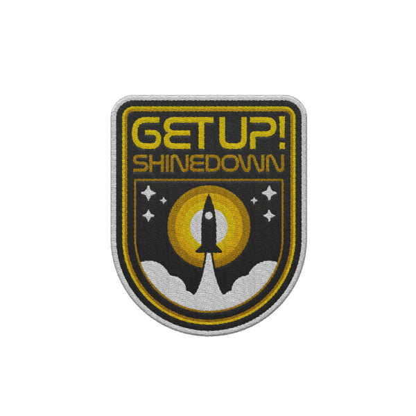 Get Up Embroidered Patch
