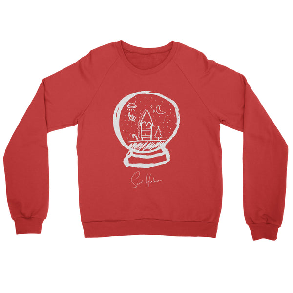 SNOW GLOBE SWEATSHIRT