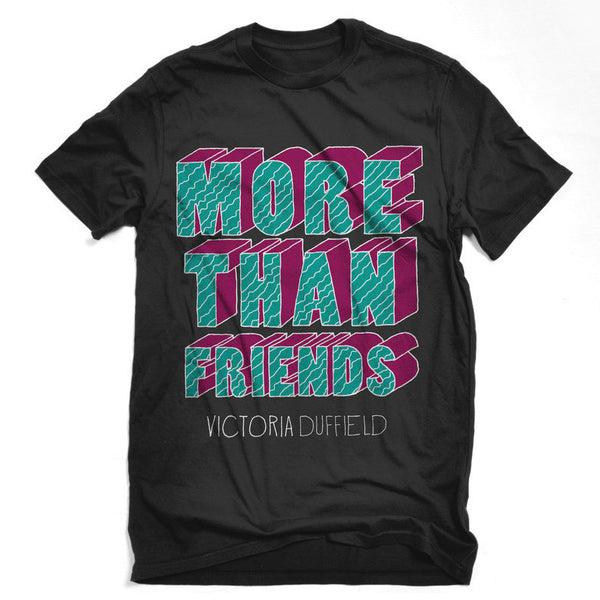 More Than Friends Adult T-shirt