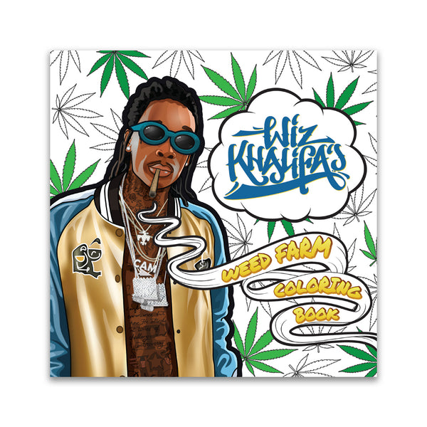 Wiz Khalifa's WeedFarm Coloring Book