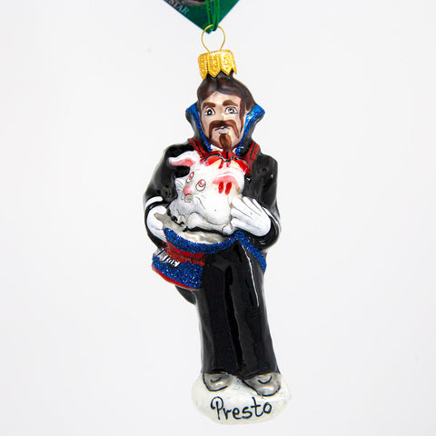 Presto The Magician Ornament