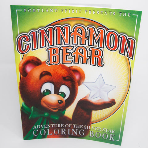 Cinnamon Bear Coloring Book