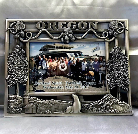 Oregon Metal Picture Frame
