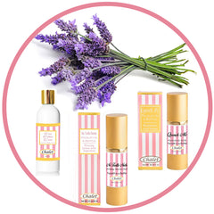natural skincare contains lavender