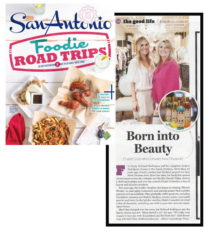 San Antonio Magazine, Born Into Beauty