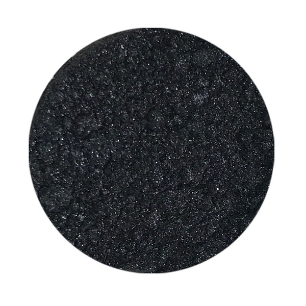 Black Tie Natural Eye Makeup Loose Mineral Shadow (Black Shimmer)