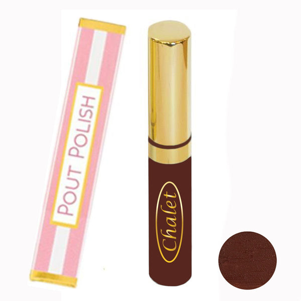 Cabernet Kisses Pout Polish Natural Lipgloss (Burgundy)