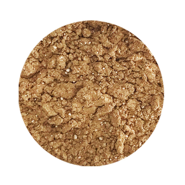 Gold Digger Natural Eye Makeup Loose Mineral Shadow (Fool's Gold)