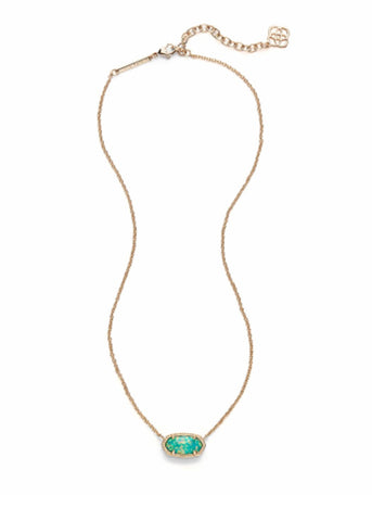Kendra Scott Elisa Necklace Kyocera Opal