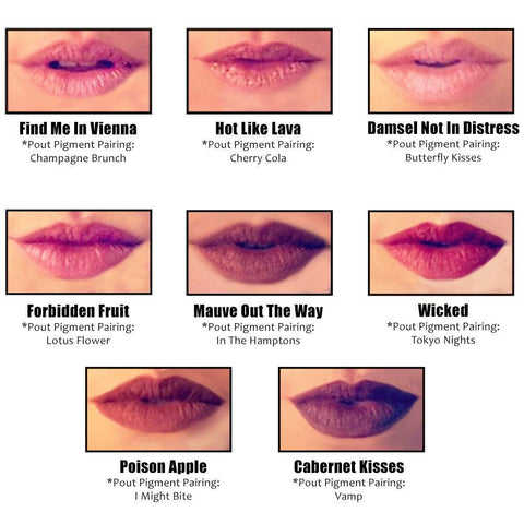 Hot Like Lava Pout Pencil Lip Makeup (Cinnamon)