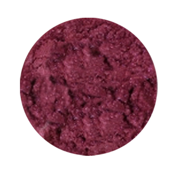 Martha's Vineyard Natural Eye Makeup Loose Mineral Shadow (Raspberry)