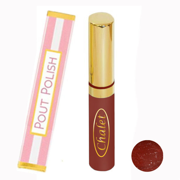 Poison Apple Pout Polish Natural Lipgloss (Redbud)
