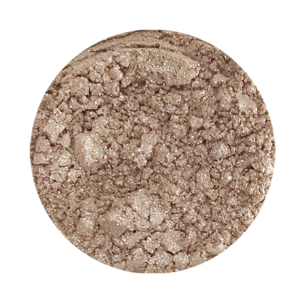 French Toast Natural Eye Makeup Loose Mineral Shadow (Taupe Sparkle)