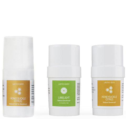 Natural Deodorant Sampler Pack