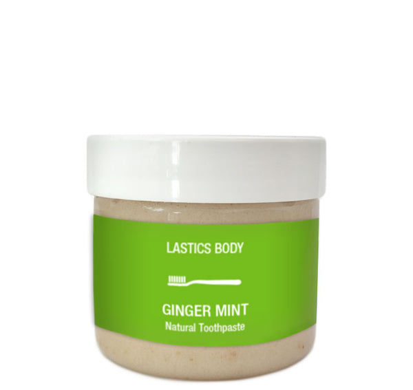Organic Ginger Mint Natural Toothpaste