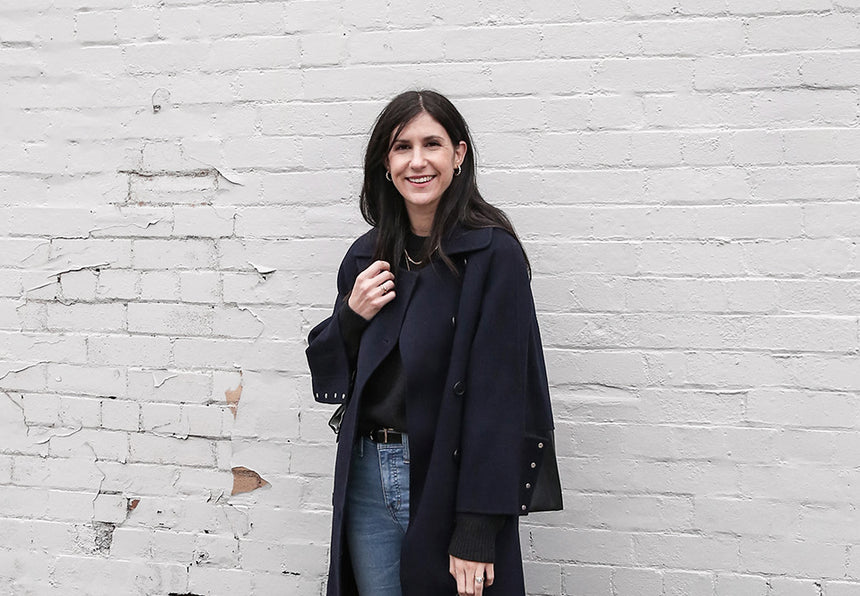 Jamie-Lee's Recommendation: Oversized Navy Coat