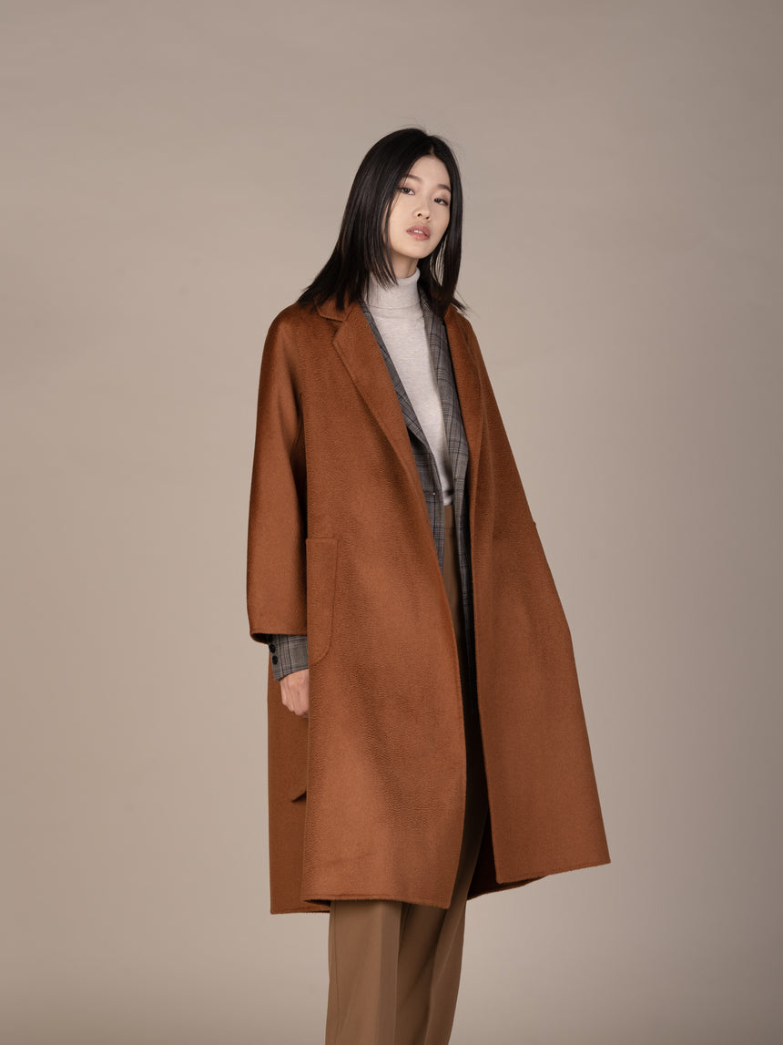 JL060 Toffee Wavey Coat