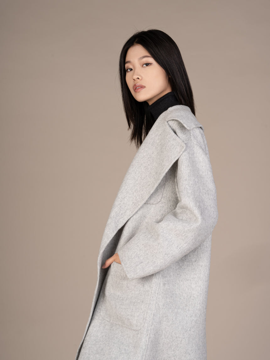 19FW008-B Starry Sky Gray Coat