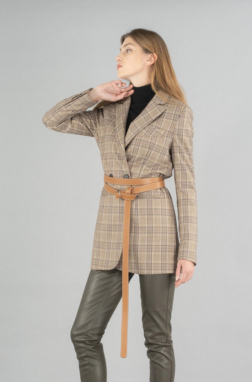 19FW011-B Novah Double Breasted Coat