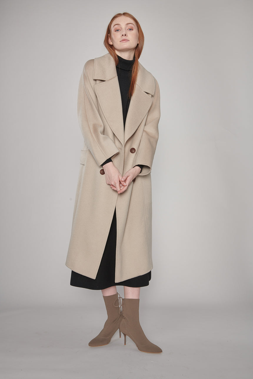 JL035B Double-Breasted Coat