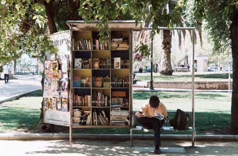 outdoor-library