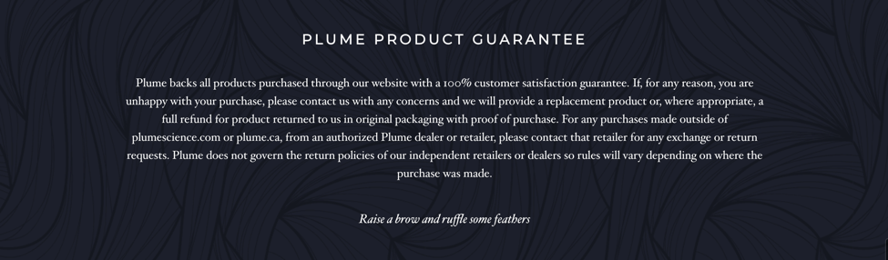 plume-product-guarantee