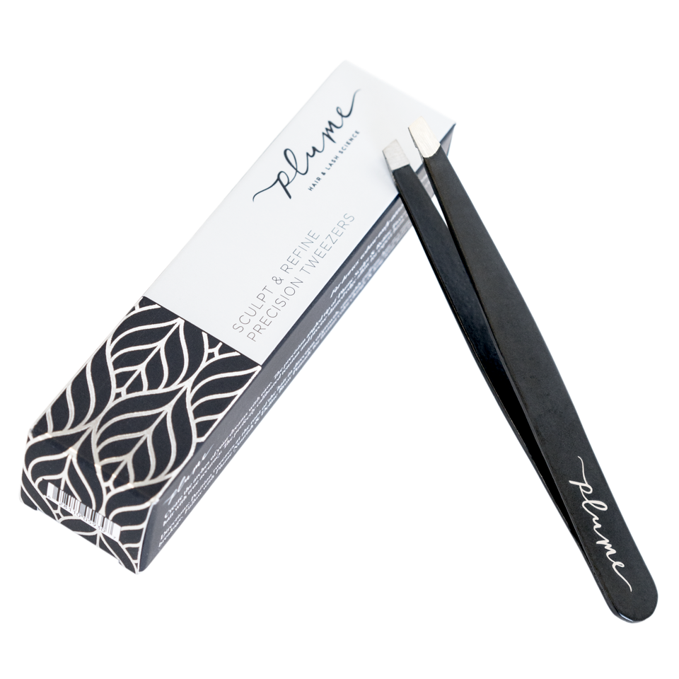 Sculpt & Refine Precision Tweezers with box