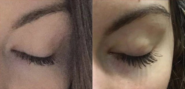 Results after 1 week using Plume Lash Serum