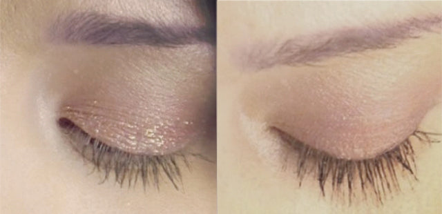 Results after 8 weeks using Plume Lash Serum