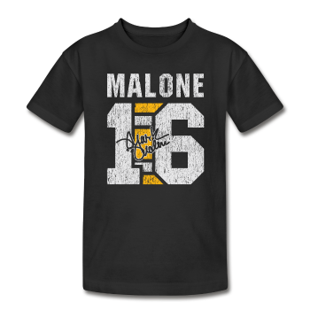 Mark Malone - Kid's T-Shirt by American Apprael