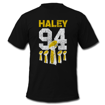 Charles Haley - Men's Contrast T-Shirt