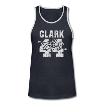 Dallas Clark - Men's Contrast Tank Top