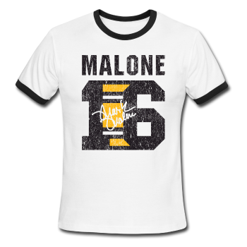 Mark Malone - Men's Ringer T-Shirt