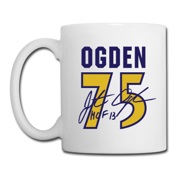 Jonathan Ogden - Coffee/Tea Mug
