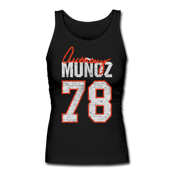 Anthony Munoz - Women's Longer Length Fitted Tank