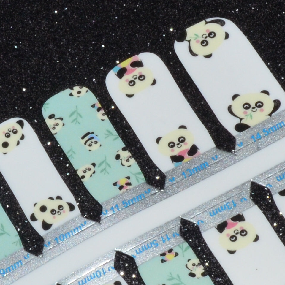 Panda Pals - Youth Size Strips