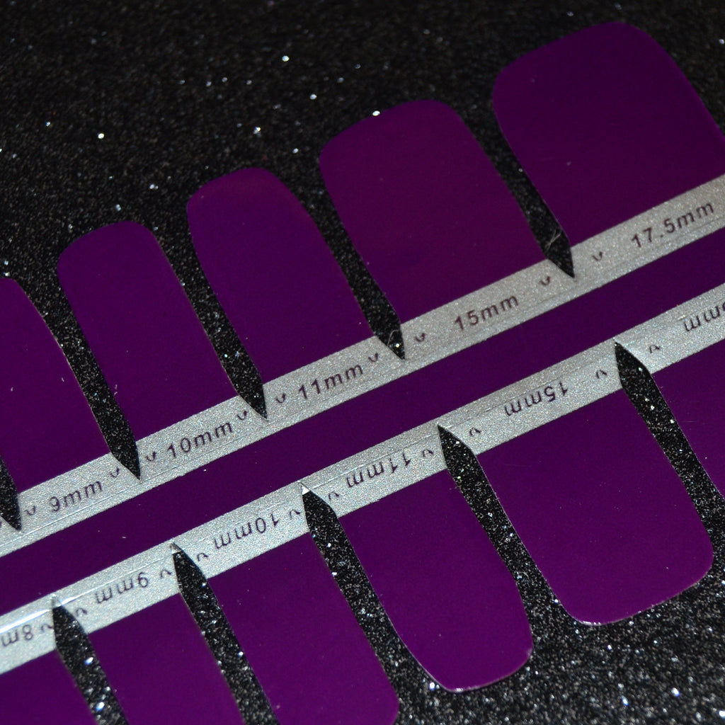 Tanzanite Pedicure Strips