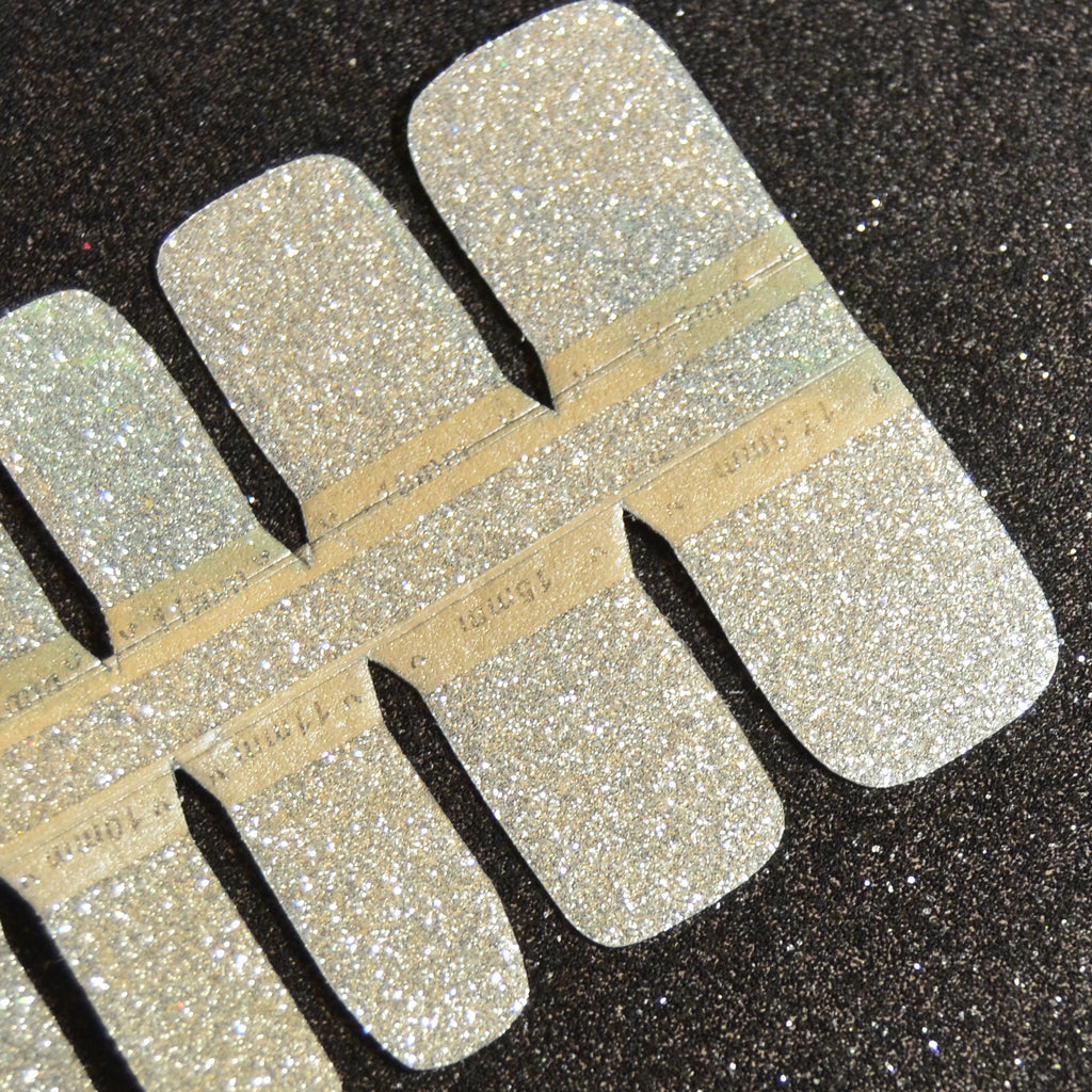 Silver Lining Pedicure Strips