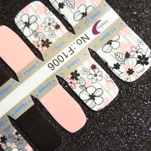 Flower Child Pedicure Strips