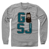 Brent Burns Men's Long Sleeve T-Shirt | 500 LEVEL