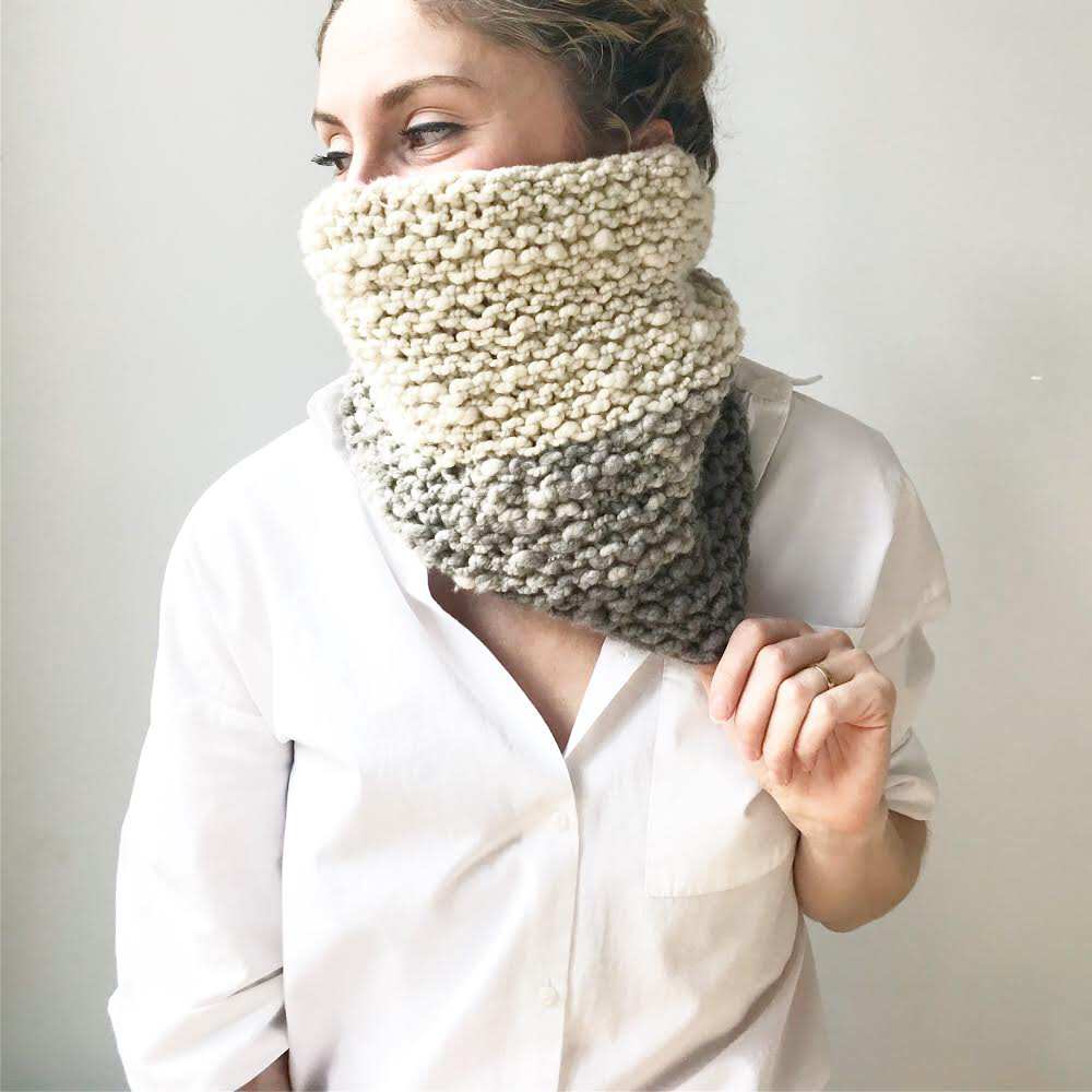 Gabi Cowl - Free Knit Pattern – Love Fest Fibers