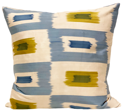 Alim Silk Ikat Pillow