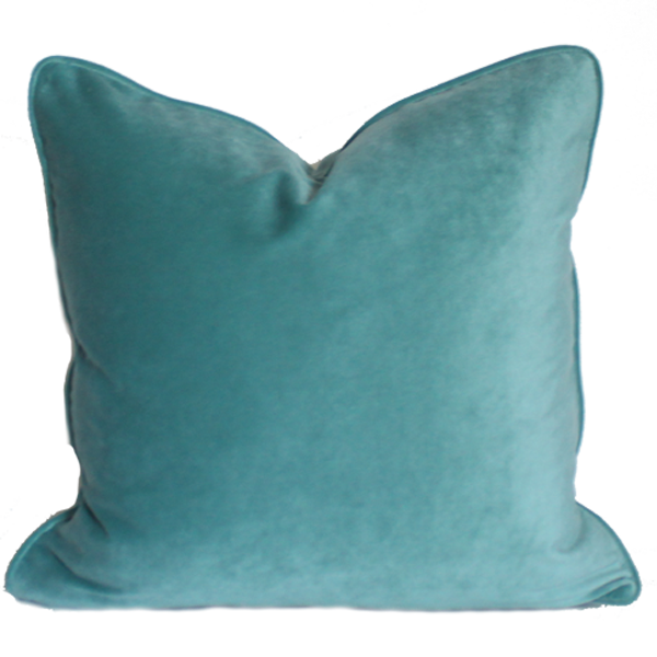 WMH Solid Velvet Pillow