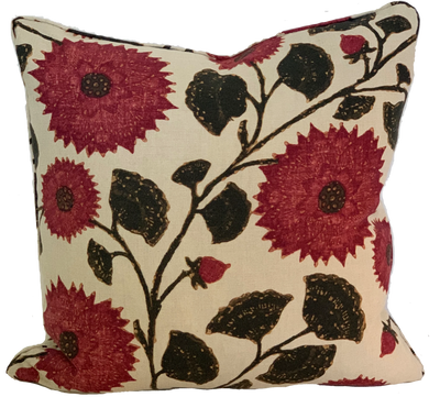 Celandine Sangria Pillow