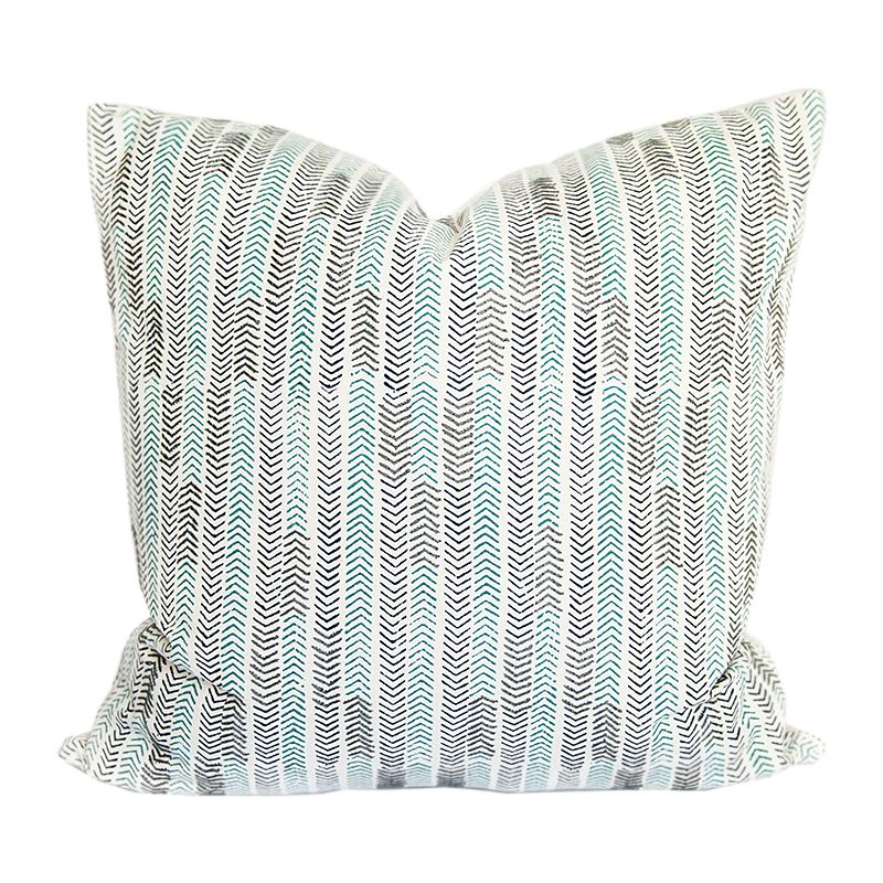 Chowpatty Blue Pillow