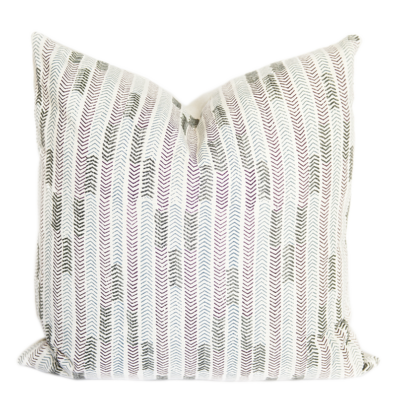 Chowpatty Anjeer Lilac Pillow