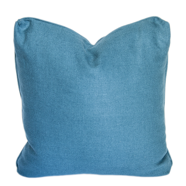 WMH Solid Belgian Linen Pillow