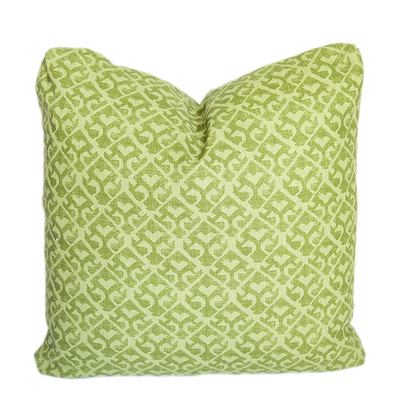 Tamar Tonal Green Pillow