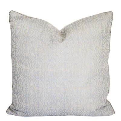 Glitterati Bandra Silver Pillow Cover