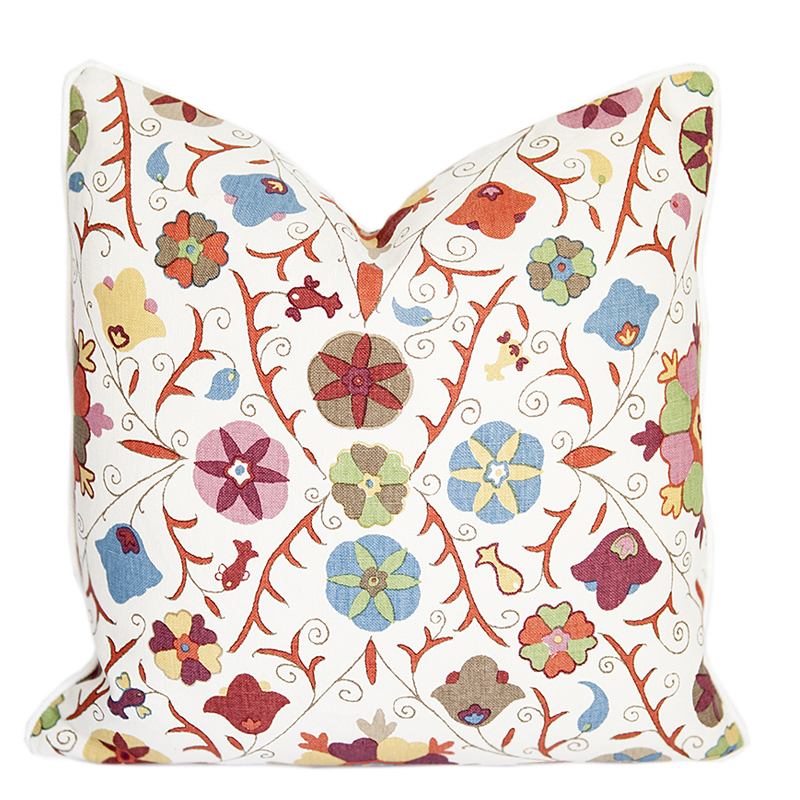 Safi Suzani Autumn Pillow